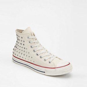 Converse All Star Studded High Tops - size 9